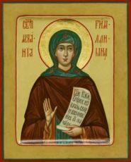Икона Анастасия Римляныня (рукописная)
