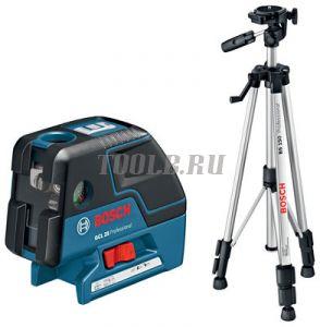 BOSCH GCL 25 + BS 150 - лазерный нивелир