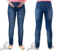 Брюки джинсовые для беременных Турция