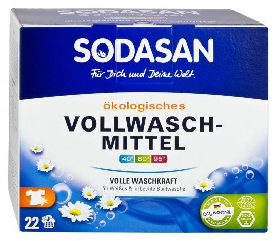 SODASAN Порошок-концентрат для отбеливания и удаления стойких загрязнений 1,2 кг
