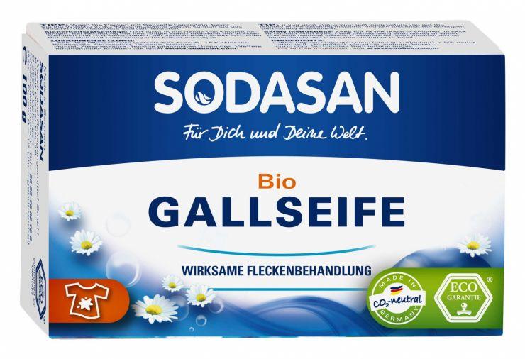 SODASAN Мыло твердое для удаления пятен в холодной воде 100 гр