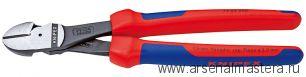 Кусачки боковые особой мощности (БОКОРЕЗЫ СИЛОВЫЕ) KNIPEX 74 02 250