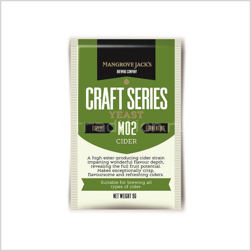 Mangrove Jack's Craft Series Yeast - Cider Yeast M02, 10 гр