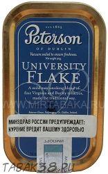 Табак трубочный PETERSON UNIVERSITY FLAKE 50гр (Ирландия)