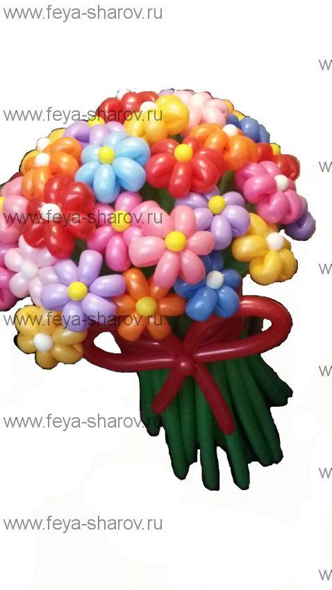 Букет Радужный 39 цветков