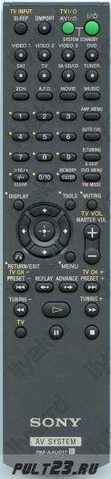 SONY RM-AAU017, STR-KS1100
