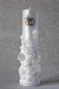 Свеча Очаг №2 (белый)