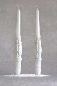 Свеча Родительская пара «Два Ангела» (белый)