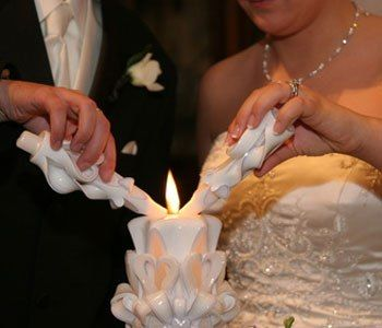 Свечи венчальные
