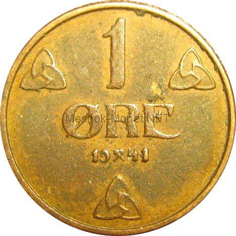 Норвегия 1 эре 1922 г.