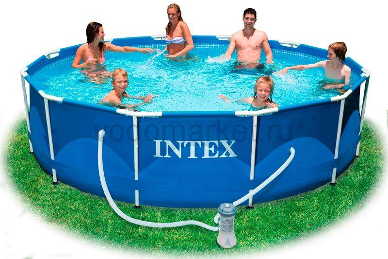 Бассейн каркасный INTEX 28218 (366 х 99см)