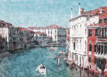 Почтовая открытка Венеция