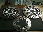 Ducati тормозные диски передние