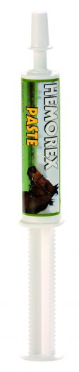 """""""Hemorex"""" TRM. Паста для стартующих лошадей. Защищает от носовых кровотечений. 30 гр"""