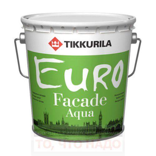 Евро Фасад Аква – акриловая фасадная краска с силиконом