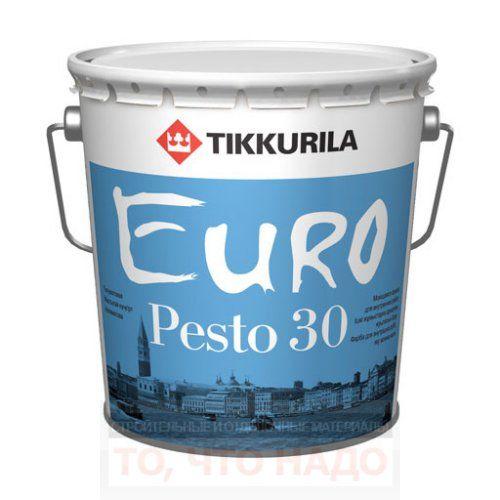 Эмаль интерьерная Euro Pesto 30
