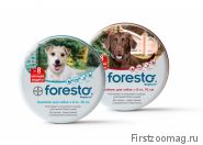 Ошейник Форесто (Foresto, Bayer) (От клещей, блох и вшей, защита 8 месяцев)