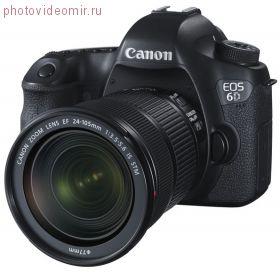Цифровой зеркальный фотоаппарат Canon EOS 6D Kit 24-105 IS STM