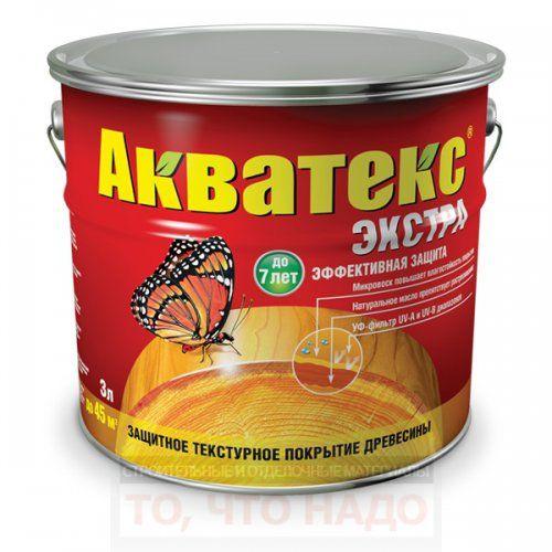 """Антисептик-текстурное покрытие """"Акватекс - Экстра"""""""