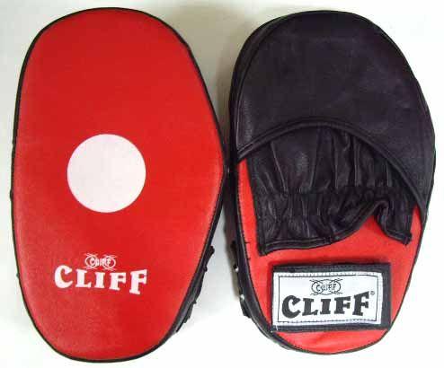 Лапа боксерская CLIFF, кожа Пакистан