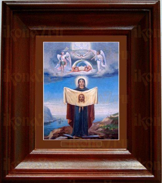 Порт-Артурская икона БМ (21х24), простой киот