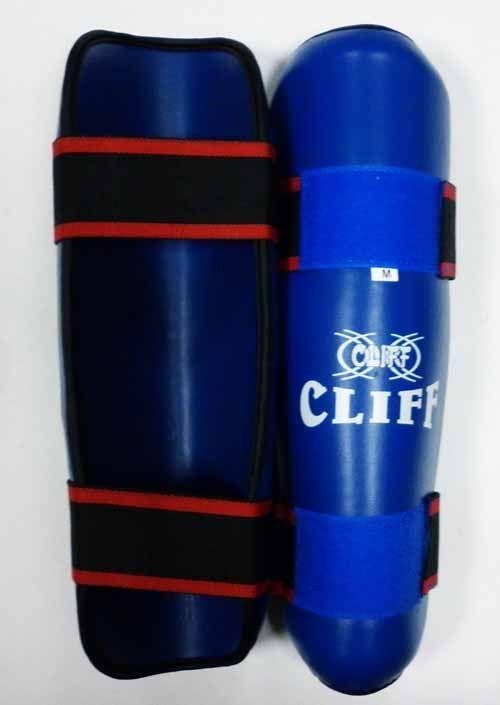 Защита голени CLIFF, (материал DX)  синяя, размер M