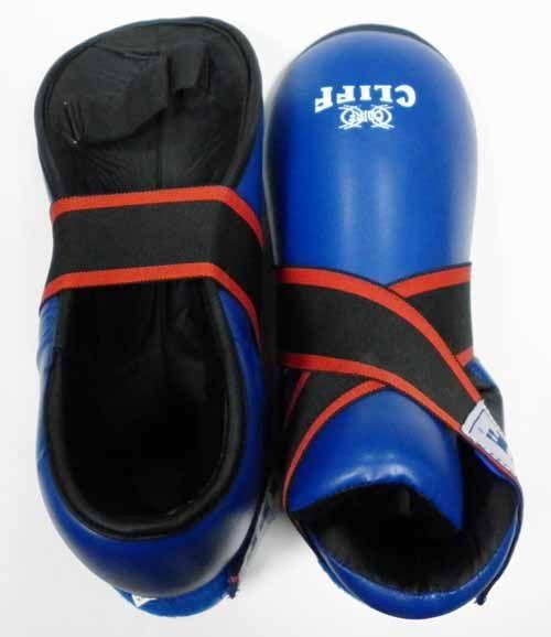 Защита стопы (футы), CLIFF,  материал DX синяя