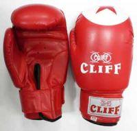 Перчатки боксерские CLIFF,TIGER STAR (DX), 6 oz красные