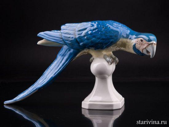 Изображение Попугай ара, Royal Dux, Богемия, пер. пол. 20 в