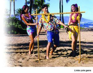 Игра гавайская-Лимбо