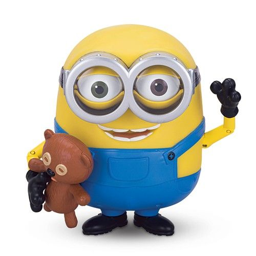 Игрушка Миньон Боб и мишка Тедди