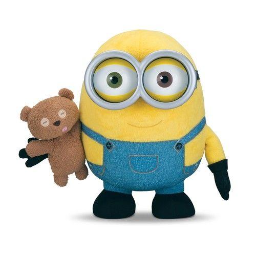 Игрушка Миньон Боб и мишка Тедди (плюшевый)