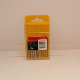 Набор боров, металл HSS, диск, конус, размер 1,8; 2,2; 2,6; 3,0; 3,4 мм, 10 шт./уп.