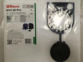 Пылесборник-мешок BSH 20 (2) Pro, для пром. пылесосов (Filtero) разм-410x630 mm, до 35 л.
