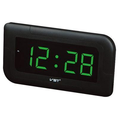 VST739-2 часы 220В зел.цифры