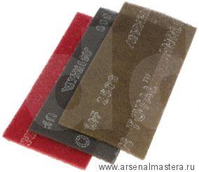 Шлифовальный войлок синтетический Mirka MIRLON TOTAL 115x230мм VF 360 Красный, 25 шт
