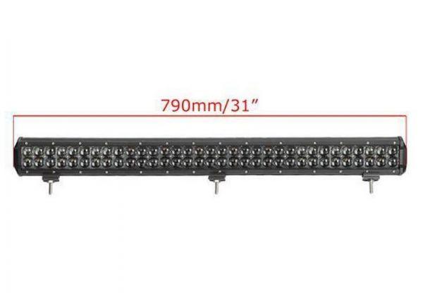 Двухрядная светодиодная LED балка 3D линза - 330W OSRAM