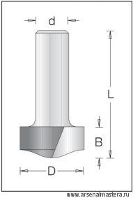 Концевая профильная вертикальная фреза DIMAR 1553729