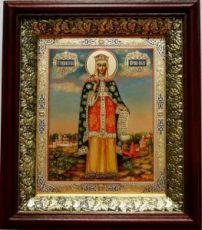 Ольга, княгиня (19х22), темный киот