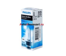 Лампа ксеноновая D2S Philips Ultra Blue