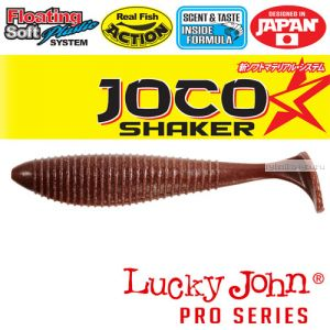 "Виброхвост Lucky John Pro Series JOCO SHAKER 3,5"" / 89,9 мм / цвет F07 / 4 шт"