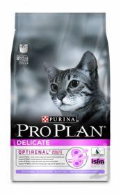 ПРО ПЛАН для кошек с проблемным пищеварением,  Индейка Рис, 10 кг