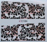 Водная наклейка для дизайна ногтей С 184