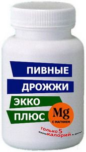 Пивные дрожжи Экко Плюс с МАГНИЕМ (100 табл.)