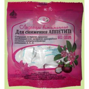 Леденцы Для снижения аппетита витаминные б/сахара 30г