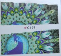 Водная наклейка для дизайна ногтей С 197
