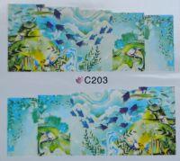 Водная наклейка для дизайна ногтей С 203