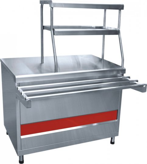 Прилавок для горячих напитков ПГН-70КМ нейтральный стол