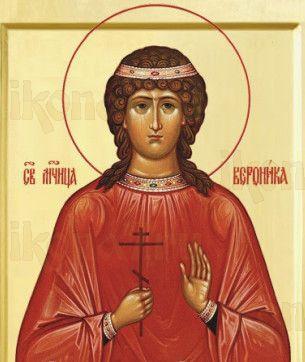 Вероника Едесская (рукописная икона)