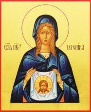 Вероника Праведная (рукописная икона)